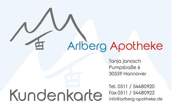 Arlberg Apotheke Außenansicht